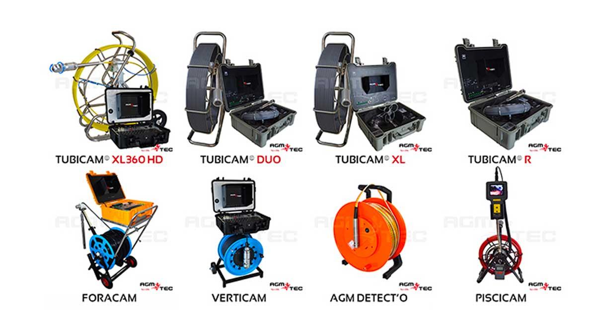 PisciCam : la Caméra d'inspection de canalisation spécial piscine